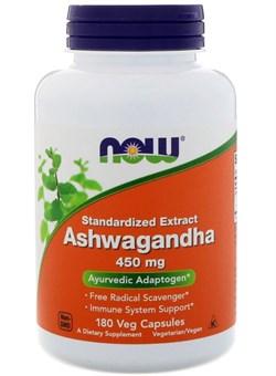 NOW Ashwagandha Extract 450 mg.180 Caps - фото 5972