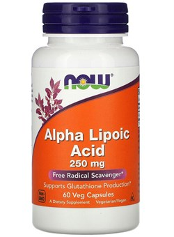 Alpha Lipoic Acid 250 mg, 60 caps. - фото 5973
