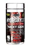 MUSCLETECH Hydroxycut Hardcore Next Gen, 100 caps.