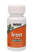 Now Foods, Железо 18 мг, 120  Caps.