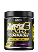 NUTREX	Lipo 6 Black TRAINING, 195 gr.