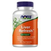 NOW Liver Refresh, 180 caps.